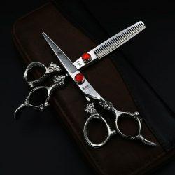 Kéo cắt tóc kasho rồng trắng nhật bản