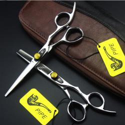 Kéo cắt tóc pipe -1